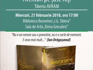 """Tiberiu Avram își lansează noua sa carte la Biblioteca Bucovinei """"I. G. Sbiera"""" Suceava"""