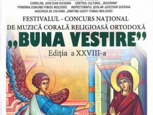 """Festivalul – concurs """"Buna vestire"""""""