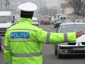 Prins de polițişti după ce a abandonat autoturismul şi a luat-o la fugă