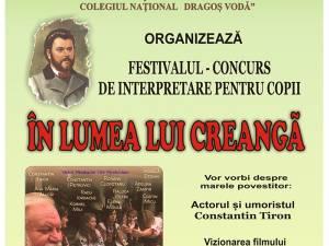 """Festivalul-concurs """"În lumea lui Creangă"""""""