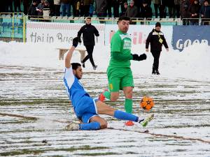 Marius Matei a reusit golul victoriei in prelungirile partidei cu Braila