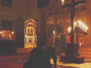Slujbă arhierească la Catedrala Arhiepiscopală din Suceava