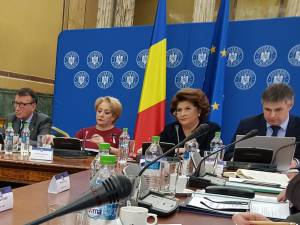 Premierul României, Viorica Dăncilă, vicepremierul Paul Stănescu, dar și ministrul Fondurilor Europene, Rovana Plumb