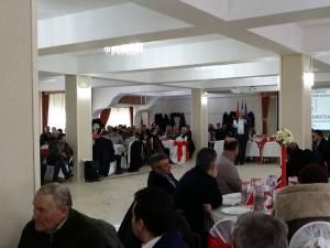 """Preşedintele Organizaţiei Judeţene PSD Suceava, senatorul Ioan Stan, a invitat participanţii """"la un dialog sincer"""", atât pe probleme de partid, cât şi administrative"""