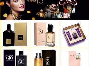Parfumuri de lux din rețeaua de magazine Parfums de Sofia