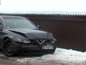 Mașina scăpată de sub control