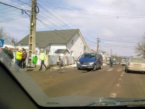 Din primele cercetări, şoferul autoturismului Mercedes Vito se face vinovat de producerea accidentului