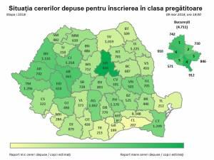 Harta clasa pregatitoare