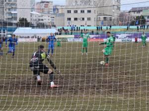 Marius Matei a adus un punct din penalty