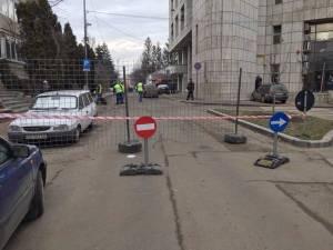 Strada Vasile Bumbac, închisă de luni circulației rutiere, pentru a fi reabilitată total