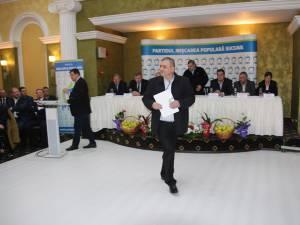 Gheorghe Jucan contestă alegerile din PMP Suceava considerând că au fost organizate în mod nestatutar