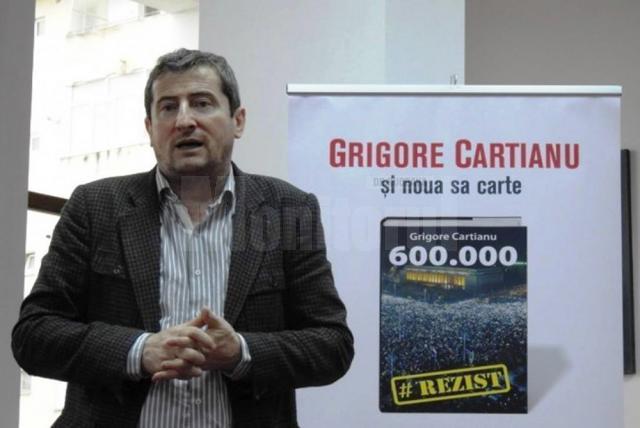 """Jurnalistul și scriitorul Grigore Cartianu își lansează vineri cărțile la Biblioteca """"I. G. Sbiera"""""""