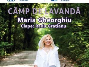 """Folkista Maria Gheorghiu aduce """"Câmp de lavandă"""", miercuri, la Suceava"""
