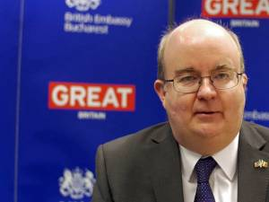 Ambasadorul Marii Britanii în România, Paul Brummell