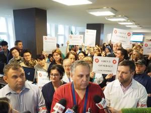 Romică Balan în fruntea sindicaliştilor SANITAS