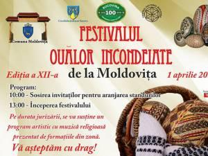 Festivalul Ouălor Încondeiate de la Moldoviţa
