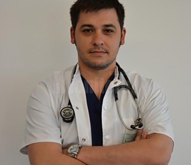 Liderul sindicatului Pro Medica din spitalul din Suceava, medicul urgentist Bogdan Bondaru