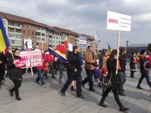 Marșul pentru Viață, de nouă ani la Suceava