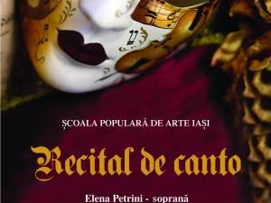 Recital de canto, la Muzeul de Istorie Suceava