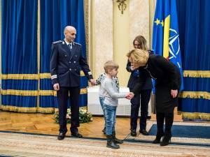 Sorin Vezeteu, declarat post-mortem poliţistul anului 2017