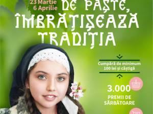 """Campania """"De Paște, îmbrățișează tradiția"""", la Iulius Mall Suceava"""