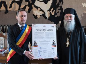 Declaraţia de unire a României cu Basarabia a fost adoptată la Mănăstirea Putna