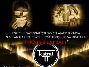 """Colegiul Naţional """"Ștefan cel Mare"""" pregăteşte """"Serate teatrale"""""""