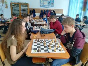 Concursul bilateral de șah rapid Palatul Copiilor Vaslui - Palatul Copiilor Suceava