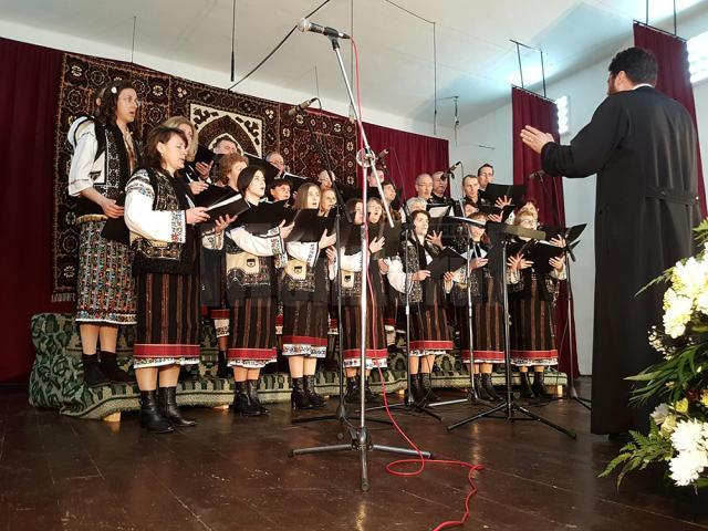 """24 de formaţii corale, prezente la Festivalul """"Buna Vestire"""", ediţia a XXVIII-a, desfăşurat la Fundu Moldovei"""