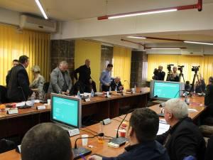 Registrul Spatiilor Verzi din Suceava a fost aprobat  în lipsa aleşilor locali PSD și ALDE, care au părasit sala