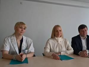 Dr. Anna Miron cu doctorii din Chişinău