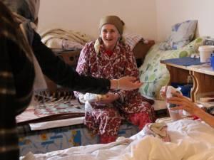 Ajutoare pentru bătrânii de la Mănăstirea Bogdăneşti