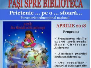 """""""Pași spre bibliotecă"""", în luna aprilie"""