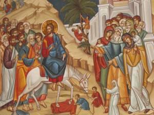 Duminică este sărbătoarea Intrarea Domnului în Ierusalim