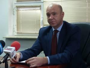 Preşedintele director general al CAS Suceava, Cristi Bleorţu