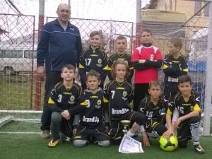 Echipa de fotbal a Liceului Tehnologic Cajvana va reprezenta Suceava la faza naţională a Olimpiadei Naţionale a Sportului Şcolar