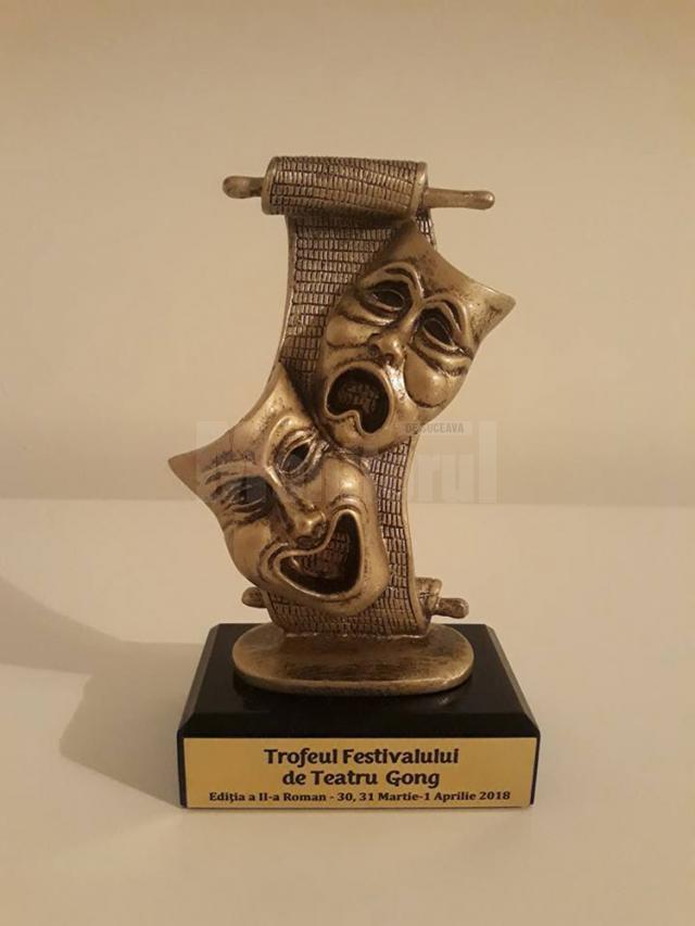Trofeul festivalului a fost câştigat de actorii din Fălticeni