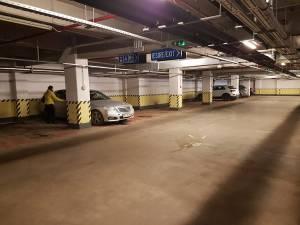 Parcarea subterană nr. 1 avea luni un grad de ocupare de nici 20%