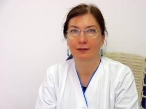 Dr. Irina Bălăuță, medicul-șef al secţiei Psihiatrie a Spitalului de Urgență Suceava  Secţia Psihiatrie Burdujeni