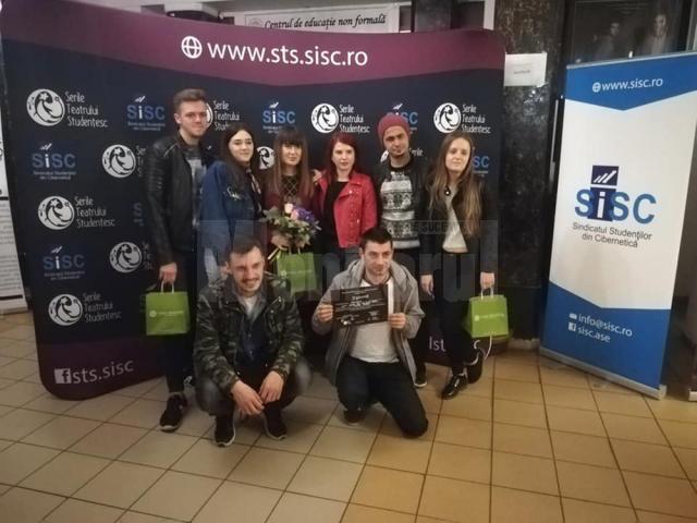 Premiul pentru cea mai buna regie pentru Trupa de teatru studențesc Fabulinus