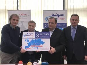 COBREX a anunţat zboruri spre Bucureşti, Madrid şi Verona de pe Aeroportul Suceava