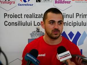 Suceveanul Mihai Sandu a jucat şi pentru HC Vaslui