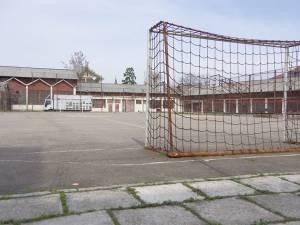 Terenul de sport de la Samuil Isopescu care va fi modernizat de Primăria Suceava