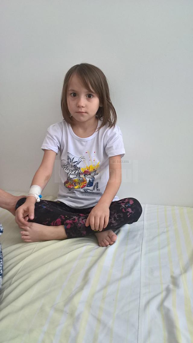 Ileana are doar 8 ani și are nevoie de transplant