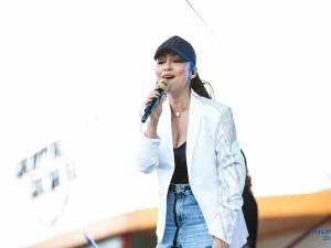 Andra a făcut un concert de excepție la 10 ani de aniversare a Shopping City Suceava