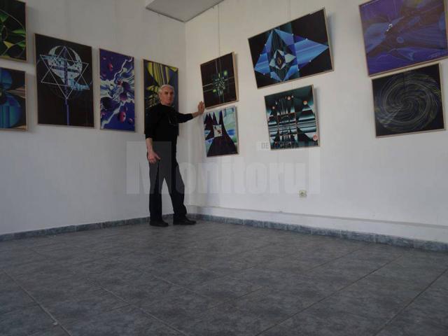 Artistul plastic botoşănean Victor Foca