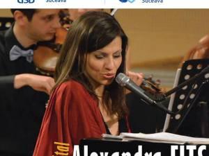 Recital cu Alexandra Fits, vineri, la Suceava