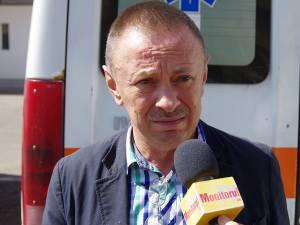 Dr. Alexandru Lăzăreanu, managerul Serviciului Judeţean de Ambulanța Suceava