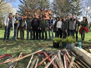 Peste 200 puieți plantați de Garda Forestieră Suceava