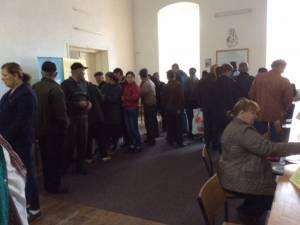 La Rădăuți, Bursa generală a locurilor de muncă a atras aproape 400 de șomeri